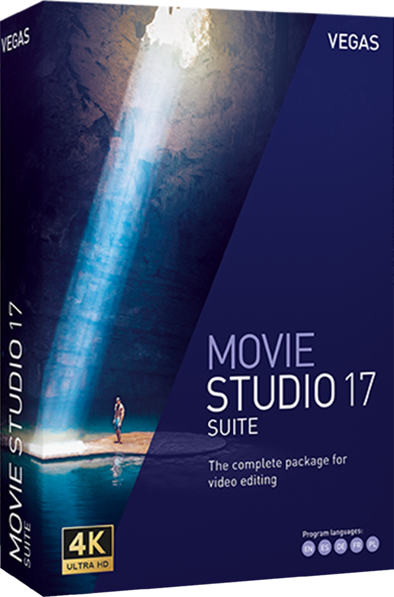 VEGAS Movie Studio 17 Suite